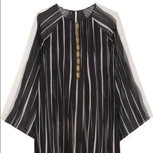 Halston Heritage Striped Dress